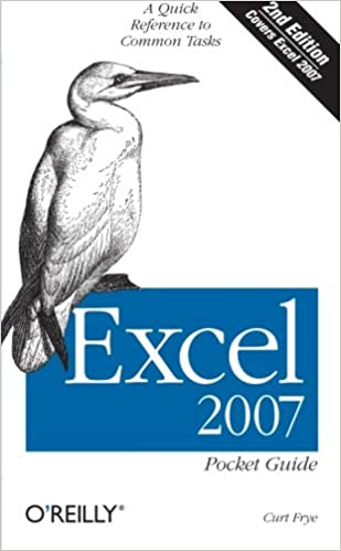 Amazon.com: Excel 2007 Pocket Guide: A Quick Reference to Common ...