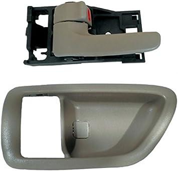 fits Toyota Inside Inner Interior Door Handle Front Left Driver Gray