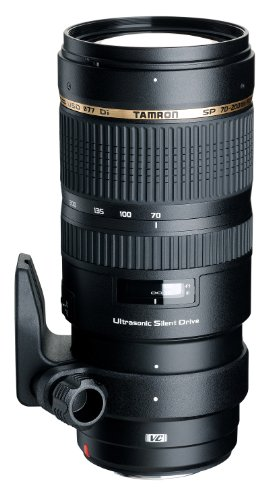 Tamron SP 70-200mm F2.8 Di VC USD Telephoto Zoom Lens for Canon (Model A009E) -...
