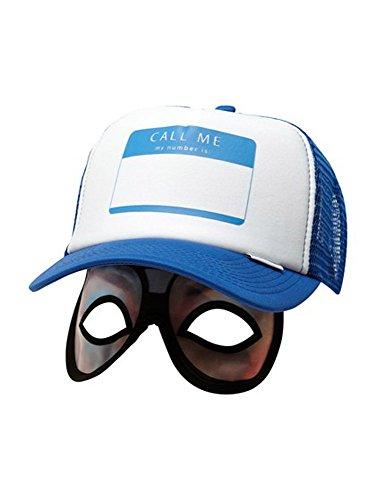 Quiksilver Diggler Bow Eye Mask Trucker - Men's ( Blue Velvet )