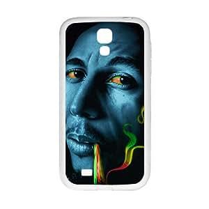 Bob marley rasta smoke Phone Case for Samsung Galaxy S4 Case