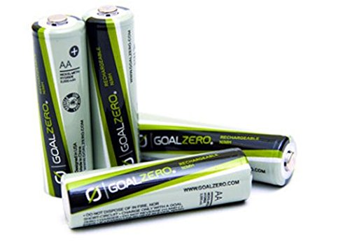 Price comparison product image Goal Zero AA Rechargeable Batteries 4-Pack
