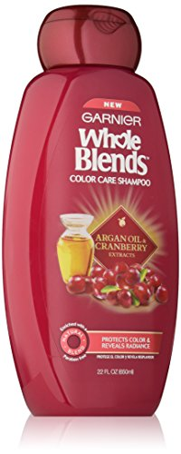 Garnier Whole Blends Shampoo with Argan Oil & Cranberry Extracts, Color Care, 22 fl. oz. (Argan Oil Blend)