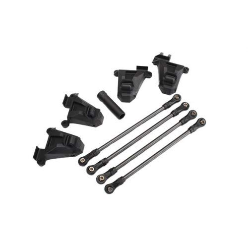 Chassis conversion kit, TRX-4 (short to long wheelbase) (includes rear upper & lower suspension links, front & rear shock towers, long female half ()