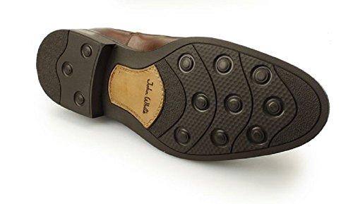 Men's John White Portchester Leather Chelsea Boots Tan 4wkP2tc