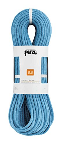 Petzl Contact 9.8mm Rope Turquoise 80m by Petzl