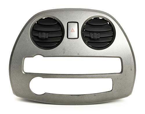 2006-2012 Mitsubishi Eclipse Single Radio Face Plate Bezel Part Number 1102500AA (Radio Mitsubishi Code)