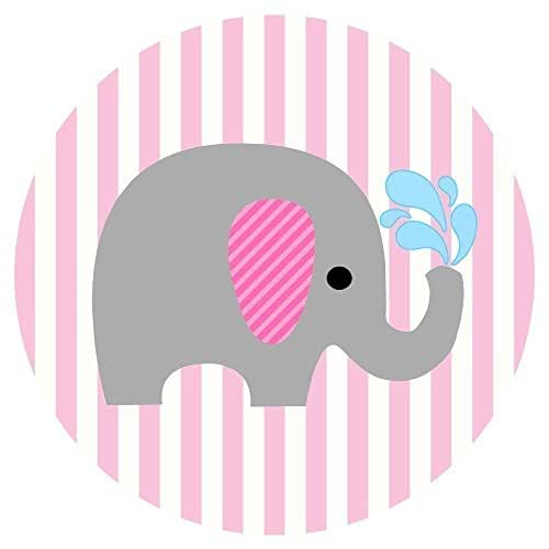 Amazon Baby Girl Elephant Stickers Label Party Favors For Baby Shower