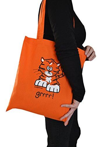 amp; wild pk bags tote Tiger ' Elephant 3 'Go Panda Igx1Fwnqw
