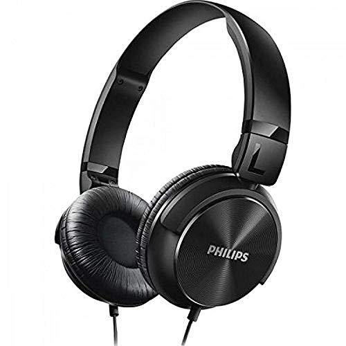 Renewed  Philips SHL3060BK/00 On Ear DJ Style Monitoring Headphones  Black