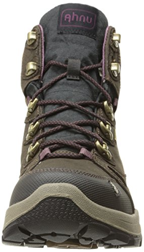 Ahnu Hiking Peak Mid North Event Brown Shoe Smokey Waterproof Women's rwPYqXr