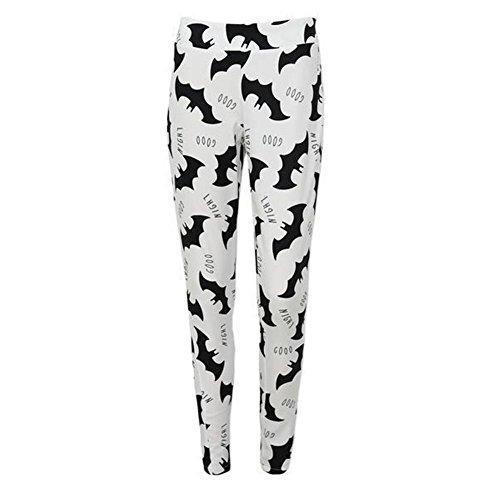 PanDaDa Printed Elastic Leggings Trousers