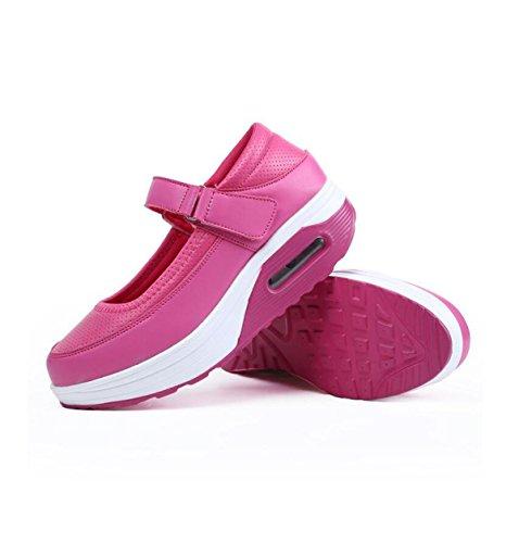 Rose Women's Shoes Sports Shoes GRRONG Low wSHxpUzXUq