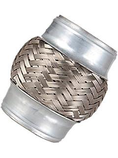 """2 1//4/"""" Exhaust Flex Pipe 2.25/"""" x 6/"""" Heavy Duty Steel 10/""""L"""