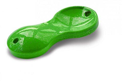 20g, 40g, 60g, 80g, 100g, 120g o.150g Zebco Flatty Teaser Buttl/öffel Gewicht:20g;Farbe:green-rainbow-glitter