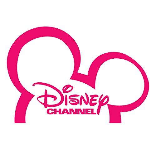 Disney Channel logo (PINK) Waterproof Vinyl Decal Stickers for Laptop Phone Helmet Car Window Bumper Mug Tuber Cup Door Wall Decoration