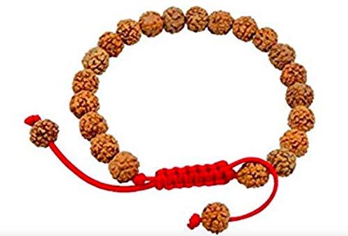 (Tibetan Mala Rudraksha Wrist Mala/ Bracelet for Meditation (Plain))