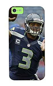 Iphone 5c Case Cover - Slim Fit Tpu Protector Shock Absorbent Case (2013 Seale Seahawks Nfl Football )