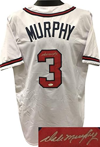 80c3c13b2 Dale Murphy Autographed Jersey - White Custom Stitched XL Witnessed  Hologram - JSA Certified - Autographed