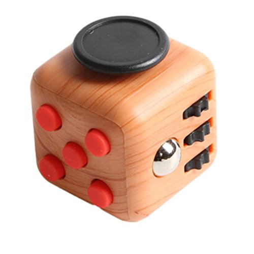 taold-fidget-toy-6-sides-anti-anxiety-relieve-stress-dice-for-fidgeters-and-adults-wood-grain