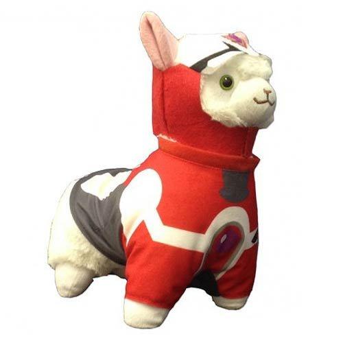 - Tiger & Bunny Barnaby Brooks Junior Hero Suit Cosplay Alpaca Prime Plush, 12