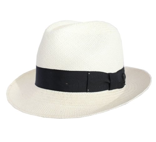 Bailey of Hollywood Men's Thurman Panama Hat Size M White by Bailey of Hollywood