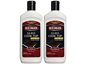 Weiman Glass Cook Top Heavy Duty Cleaner & Polish, 10 oz, Pack of 2 by Weiman