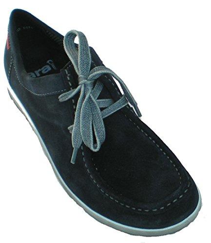 ara Women's Leather Loafer US 7 M (UK 4.5 / EU 37.5) Blue (Ara Loafers Suede)