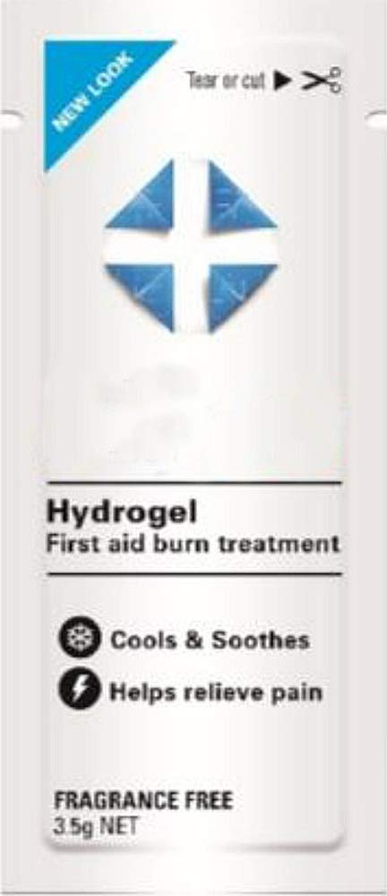 Hydrogel Sachets 3.5 g. Case of 1000 Water-Based Gel Sachets for Pain Relief. Single use. Non-sterile & Latex-Free. Cools, Soothes, Relieves Pain. by AMZ Medical Supply