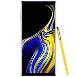 Samsung Galaxy Note9 GSM Unlocked Phone with 6.4in Screen and 128GB – Ocean Blue (Renewed)