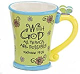 WITH God ALL things ARE possible Inspirational Coffee Mug