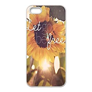 Be Free Customized Cover Case for Iphone 5,5S,custom phone case ygtg580660