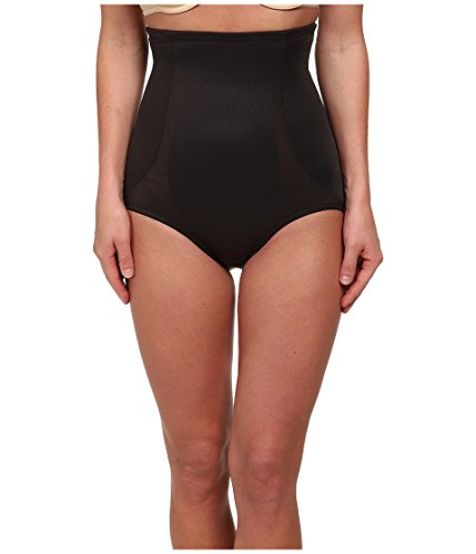 Miraclesuit Back Magic Extra Firm Control High-Waist Brief, XL, Black (Miraclesuit Body Briefer)