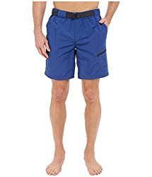 The North Face Belted Guide Trunks Limoges Blue Mens Shorts