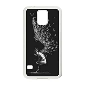 High quality angels Hard Shell Cell Phone Case Cover for For Samsung Galaxy Case S5 color2 by mcsharks