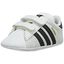 adidas Unisex Babies Superstar Crib Gymnastics Shoes