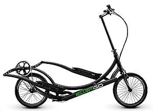 ElliptiGO 3C - The World's First Outdoor Elliptical Bike AND Your Best Indoor Elliptical Trainer (BLACK)