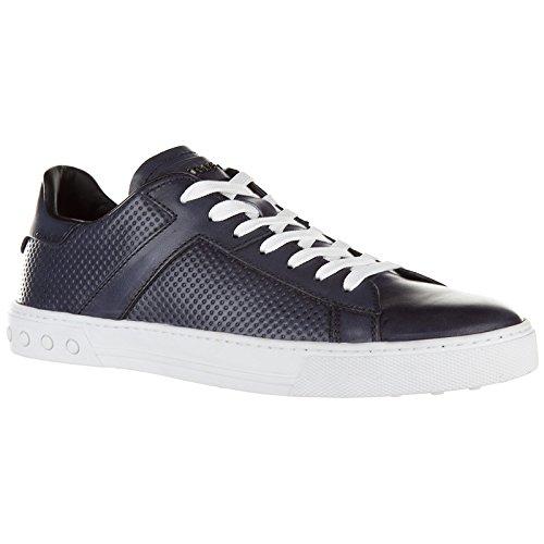 Tod's Scarpe Sneakers Uomo in Pelle Nuove Etichetta Cassetta Blu Pago De Descuento Con Paypal Comprar Barato Vista Venta De La Mejor Venta WjhcEVff