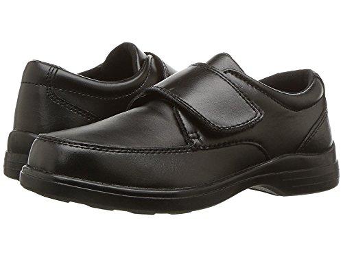 Leather Uniform Shoes - Hush Puppies Gavin Uniform Dress Shoe (Toddler/Little Kid/Big Kid), Black, 5 W US Big Kid