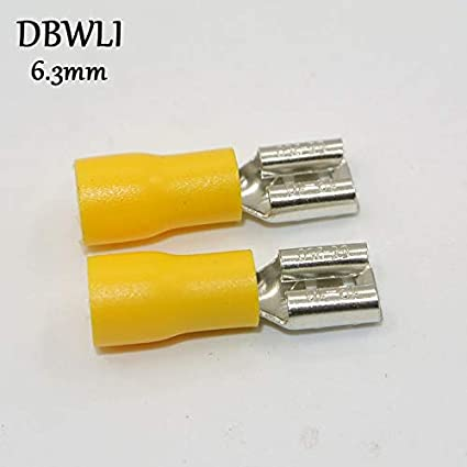 1000Pcs Female/&Male Spade Insulated Connectors Crimp Electrical Wire Terminal