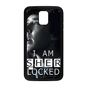 Samsung Galaxy S5 Cell Phone Case Black Sherlock Hard Phone Case Active CZOIEQWMXN0763