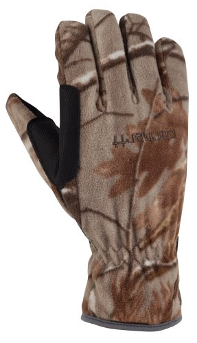 Carhartt Men's  Fleece Work and Hunting Glove, Xtra, (Carhartt Fleece Gloves)