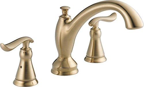 Delta T2794-CZ Linden Roman Tub Trim, Champagne Bronze by DELTA FAUCET