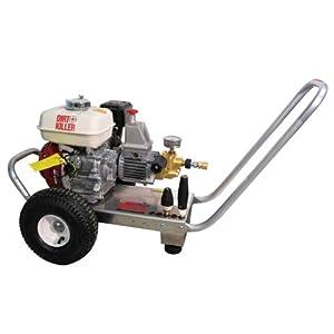 Dirt Killer 9800040-s H200 2000 PSI, 3.5 GPM, 5.5 HP Gear-Drive Honda Industrial Pressure Washer