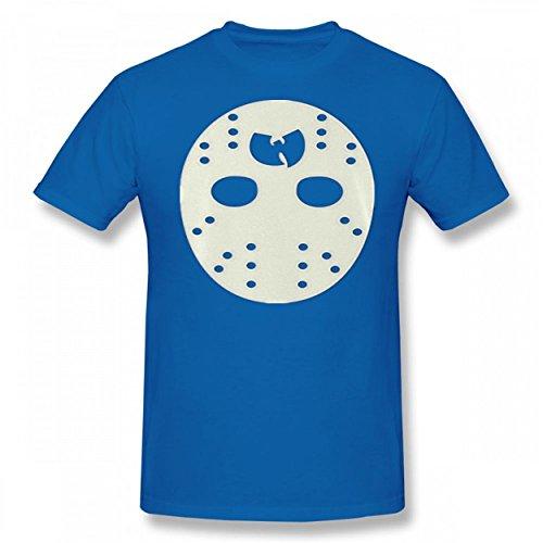 Dearsally Unique Hockey Mask The Saga Men Novelty Funny Stylish T Shirt ()