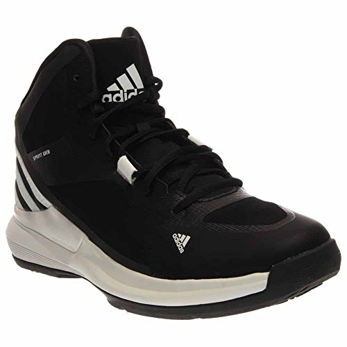 Adidas Crazy Strike Womens Basketball Shoes 5 Black-White