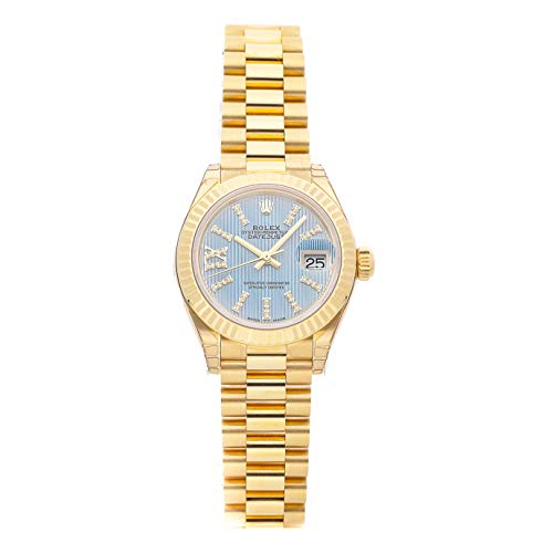 Rolex Datejust Mechanical (Automatic) Blue Dial Womens Watch 279178 (Certified Pre-Owned)