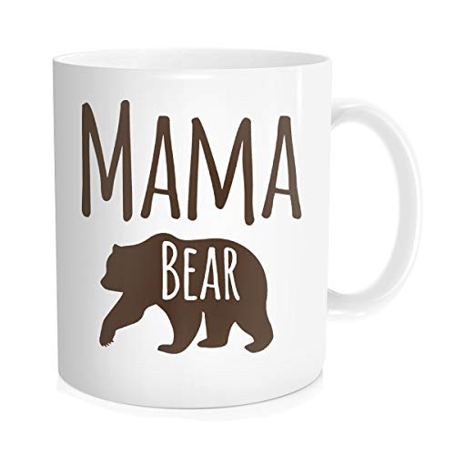 1a12a7daed3 Funny Coffee Mug Tea Cup Inspirational Quote for Men Women - Mama Bear  Mother's Day Birthday