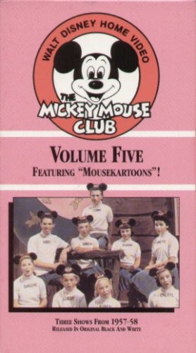The Mickey Mouse Club, Vol. 5: Featuring Mousekartoons (1957-1958)