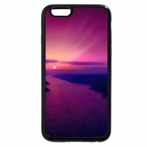 iPhone 6S / iPhone 6 Case (Black) Purple-Sunrise